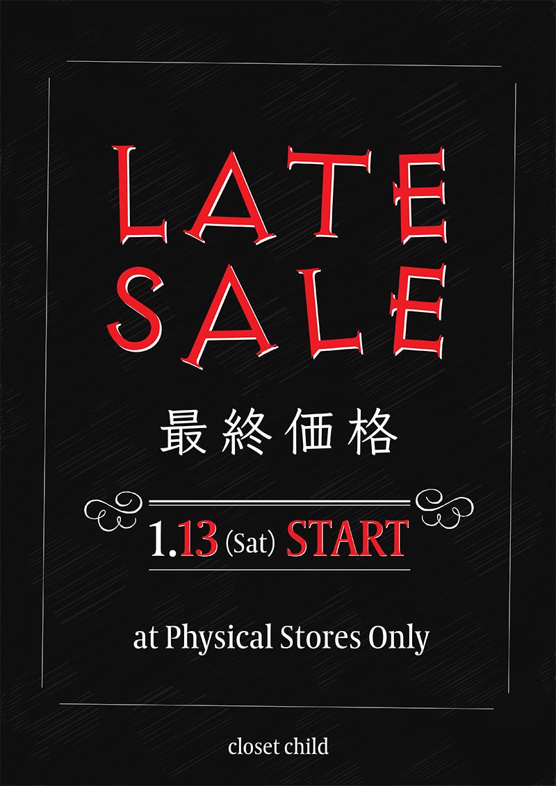 ゴシックブランド LATE SALE 最終価格